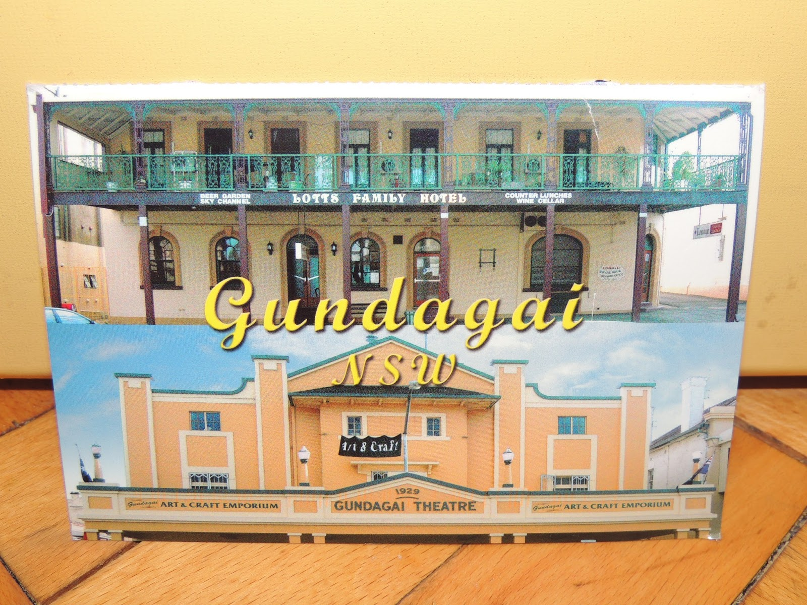 Postcard from Gundagai, Australia – Diary of Difference