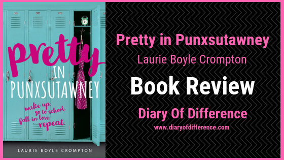pretty in punxsutawney laurie boyle crompton book review diary of difference books love novel goodreads netgalley pink pretty in pink